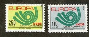 TURKEY 1935-6 MNH SCV $10.00 BIN $4.00 EUROPA