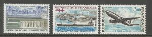 FRANCE  1363-1365  MNH,  FRENCH TECHNICAL ACHIEVEMENTS