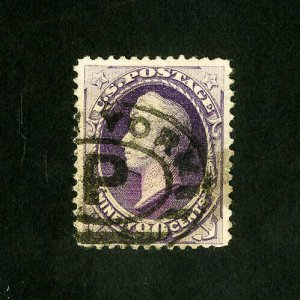 US Stamps # 218 XF Neat cancel strong color