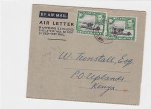 ugaqnda kenya tanganyika 1949 air letter to kenya    ref r13459