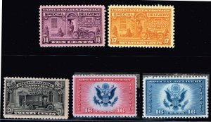 US STAMP Special Delivery MINT STAMPS LOT 10C, 17C MNH