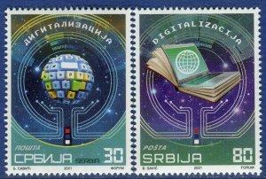 1631 - SERBIA 2021 - Digitalisation - MNH Set