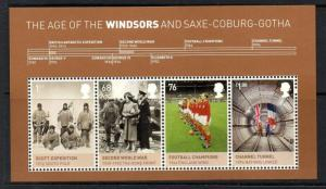 GB SGMS3270 2012 HOUSE OF WINDSOR MNH