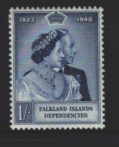 Falkland Islands Sc#1L12 MH
