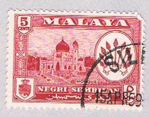 Malaya Negri Sembilan 67 Used Arms of Negri Sembilan (BP23117)