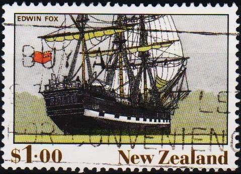 New Zealand. 1990 $1 S.G.1545 Fine Used