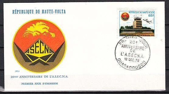 Burkina Faso, Scott cat. 522. Airport issue on a First day cover.