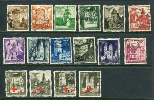 Germany/Poland/General Government 1940 Mi 40-55 Used g3257
