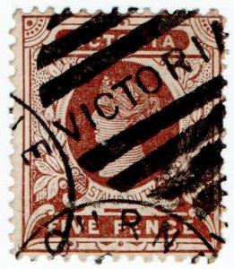 (I.B) Australia - Victoria Revenue : Stamp Duty 5d (postal)