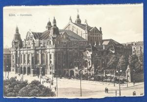 Germany Postcard With Stamp Postmarked 1910 (HP1)