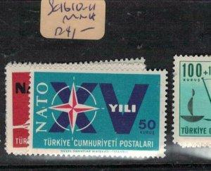 Turkey SC 1610-4 MNH (8euq)