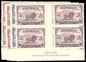 AUSTRALIA 147-49  Mint (ID # 93091)