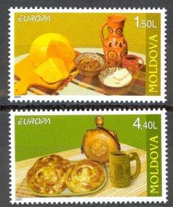 Moldova Sc# 490-491 MNH 2005 Europa