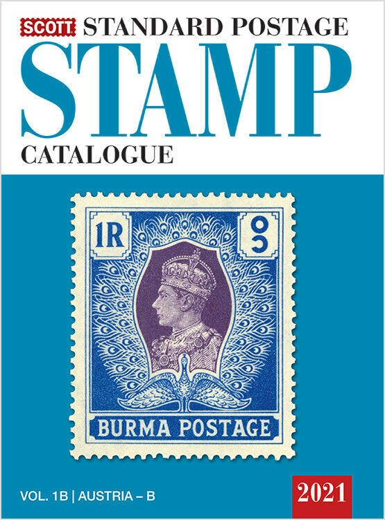 2021 Scott Standard Postage Stamp Catalogue, Vol 1 A+B (US, UN, A to B)