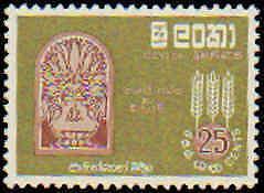 Ceylon #366-367 Hinged Complete Set(2)
