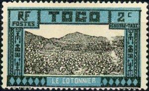 Togo #J9 2c Cotton Field