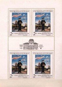Czechoslovakia 1967 MNH Mini Sheet Stamps Scott 1484 Art Paintings Rousseau