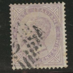 Italy Scott 32 lilac 60c King Victor Emmanuel CV$16 1863