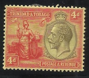 Trinidad and Tobago SC 26 4p MH F/VF