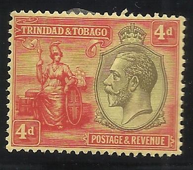 Trinidad and Tobago SC 26 4p MH F/VF