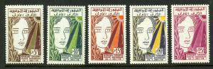 TUNISIA 323-327 MNH SCV $2.25 BIN $1.40 ART