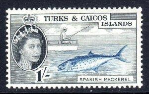 Turks & Caicos  1957-62 ..    sg 246  ..1/-  -  MM