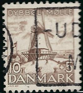 Denmark SC B7 Used VF...A very Popular Country!!