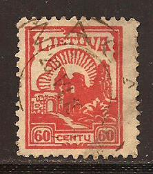 Lithuania  #  170  used