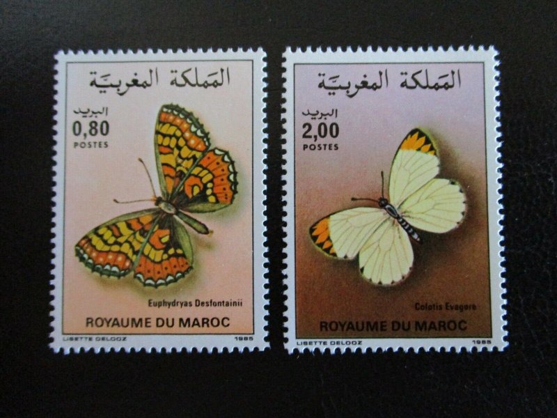 Morocco #610-11 Mint Never Hinged (F7D8) I Combine Shipping!