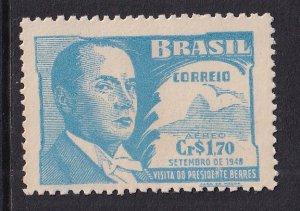 Brazil   #C71  MH   1948  visit of Louis Battle Berres