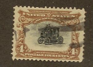 296 Used, 4c. Pan-American, scv: $19
