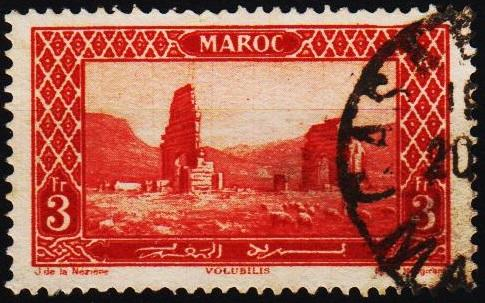 Morocco(French). 1917 3f S.G.146 Fine Used