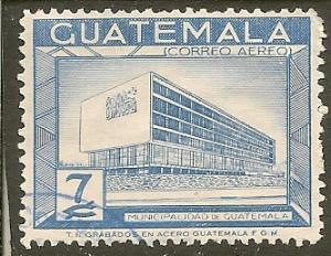 Guatemala  Scott  C282    Building   Used