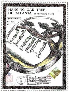 United States, Georgia, Perforated Initials, Locals