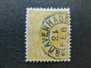 A4P48F43 Netherlands 1891-94 3c used