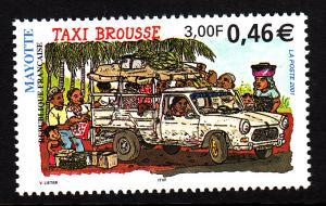 Mayotte MNH Scott #148 3fr Bush taxi
