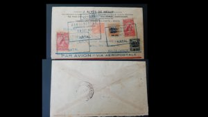 U) 1930, BRAZIL, FROM NATAL TO RIO, AIRMAIL, BY AEROPOSTALE, CGA