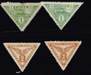 ITALY STAMPS COLLECTION LOT #T2  FIUME