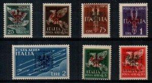 Yugoslavia Scott NC11-17 Mint hinged [TG219]