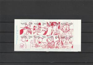 Finland  Scott#  1022a  MNH Complete Booklet  (1996 Finnish Comic Strips)