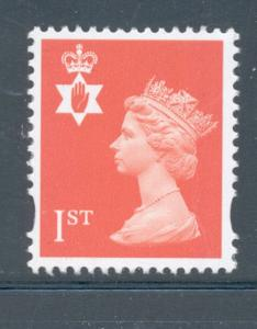 "Great Britain Northern Ireland NIM99""1st"" Machin mint NH"