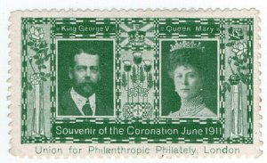 (I.B) Cinderella Collection : George V Coronation 1911