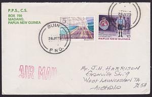 PAPUA NEW GUINEA 1979 cover ex BUIN.........................................3784