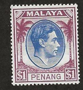 MALAYA - PENANG  SC# 20   FVF/MNH
