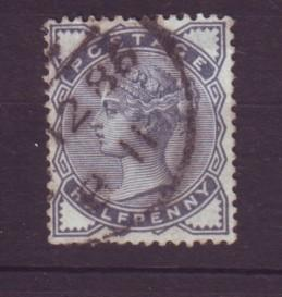 J19313  Jlstamps 1883 great britain used #98 queen