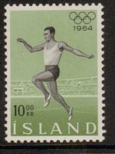 ICELAND SG418 1964 OLYMPIC GAMES MNH