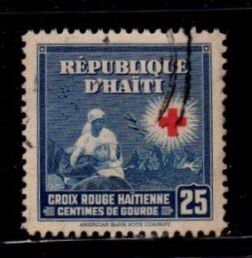 Haiti - #365 Red Cross - Used