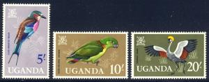 HALF-CAT BRITISH SALE: UGANDA #97-110 Mint