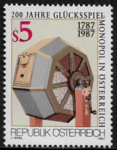 Austria #1413 MNH Stamp - Gambling Monopoly