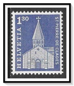 Switzerland #449 Church Of St Pierre De Clages MNH